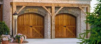 brown garage doors with windows. Wood-garage-doors Brown Garage Doors With Windows