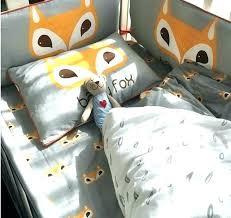 fox baby bedding set fox racing bedding set fox bed set baby bed set per cotton