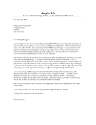 Ideas Collection Cover Letter For Cvs Pharmacy Technician For