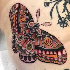 Tattoo Uploaded By Shaun Topper Moth Tattoo On The Leg