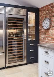 Pin by Wendi Wolfe on Kitchen details inspiration | Bespoke kitchens,  Contemporary kitchen, Wine fridge