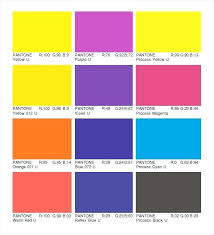 Cmyk Color Chart Simple Athletic Gold C By Pantone Cmyk Rgb Chart Gsfoundation