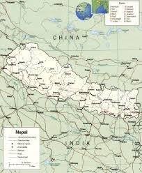 nepal map kathmandu, everest Nepal India Map Nepal India Map #47 nepal india border map