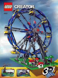 Inventory for 4957-1: Ferris Wheel | Brickset: LEGO set guide and ...