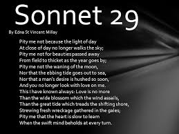 by edna st vincent millay ppt video online  2 sonnet