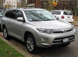 File:2011 Toyota Highlander Hybrid Limited -- 11-20-2011 2.jpg ...