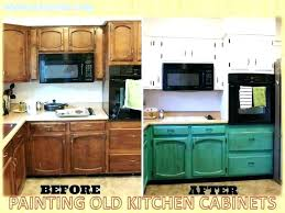 painted old kitchen cabinets painting wood the most paint color ideas for