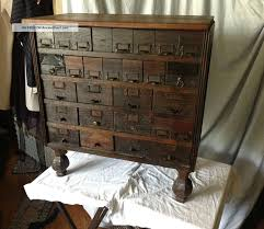 Antique Drawer Cabinet Cool Antique File Cabinet Dresser 28 Tin Lined Drawers 1900 1950