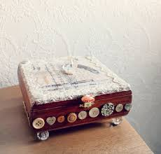 Decorating Cigar Boxes upcycled shabby chic decorating ideas Shabby Chic Home Decor 19