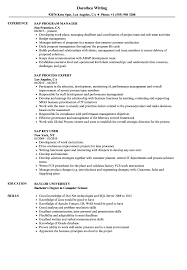 Sap Bpc Resume Samples Sap Resume Samples Velvet Jobs 11
