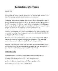 Partnership Proposal Samples Comedy Show Proposal Template Meltfm Co