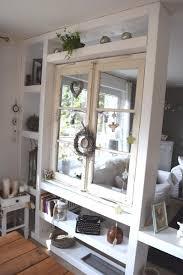Raumteiler Mit Altem Fenster Küche Tolle Zum Obstkisten Deko Garten Diy