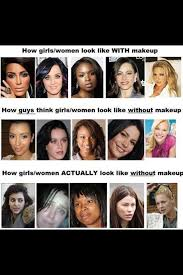 it s always good to see celebrities without makeup on it reminds s that the celebrities that look so flawless and stunning all the time look just as