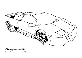 Small Picture Free Printable Lamborghini Coloring Pages For Kids Throughout