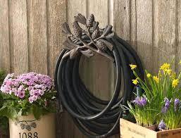 garden hose holder outdoor stand