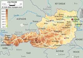 Le guide du routard autriche en ligne vous propose toutes les informations pratiques, culturelles, carte autriche, plan autriche, photos autriche, météo autriche. Carte De L Autriche Autriche Carte Autriche Carte