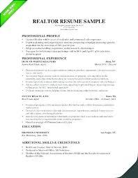 Real Estate Resume Noxdefense Com