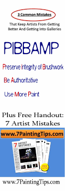 3 common mistakes that keeps artists from getting better and getting into galleries plus free handout