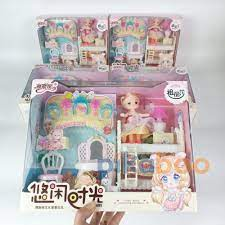 Đồ chơi búp bê Pikaboo cho bé gái, chất lượng cao cấp, màu sắc trang nhã,  an toàn cho bé [ĐƯỢC KIỂM HÀNG] [ĐƯỢC KIỂM HÀNG] - 41748408