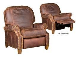 jefferson durango leather recliner kh137lr