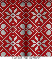 vintage christmas pattern. Interesting Christmas Vintage Christmas Knitted Pattern  Csp11699191 For Pattern E