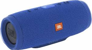 loud portable bluetooth speakers. jbl - charge 3 portable bluetooth speaker blue loud speakers