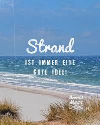 Strand Ist Immer Eine Gute Idee Für Alle Die Meer Wollen