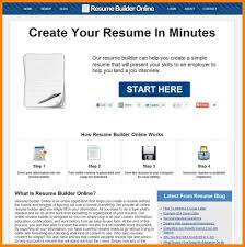 12 Online Resume Builder Free Address Example