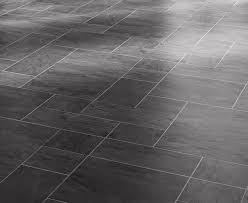 black slate tile effect laminate flooring studio design