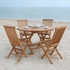 elegant outdoor furniture. exciting folding teak outdoor furniture for unique dining sets design elegant