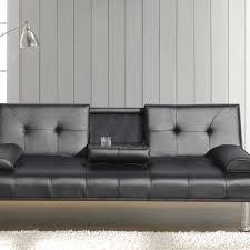 sofa bed black