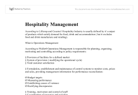 hotel management essays my study plan essay to apply for hospitality management glion