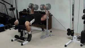 ME Upper Close Grip Bench Press Vs Chains WVIDEO  Elite FTSChains Bench Press