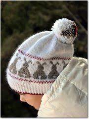 Snow Bunnies | Шаблоны вязаных шляп, Шаблоны для вязания ...