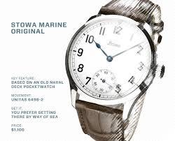 timekeeping guide to german watches • gear patrol stowa