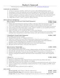 financial advisor resume sample job resume samples financial advisor resume sample