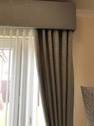 Black Patterned Curtains Simple Design