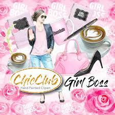 <b>Watercolor Fashion</b> Clipart Set <b>Girl</b> Boss Girly Babe <b>Pink</b> | Etsy
