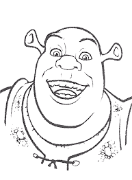 Small Picture Shrek Coloring Pages Coloring Pages Online
