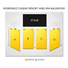 Morongo Casino Resort And Spa 2019 Seating Chart