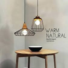 vintage industrial metal cage pendant light kmart brushed nickel wire shade lamps country wrought iron lighting