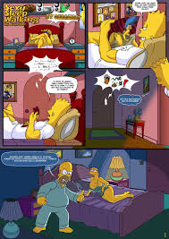 Marge and bart simpson hentai