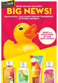 bath and body works semi annual sale end date first look semi annual sale bath body works june 5th 2015