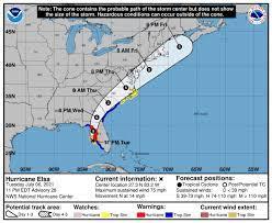 Hurricane Elsa 2021 path update: Elsa ...