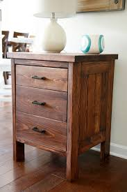 people who want to keep their bedroom notorious free should try this typical nightstand design once though an easy diy process