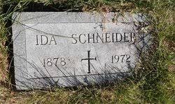 Ida Schneider (1878-1972) - Find A Grave Memorial
