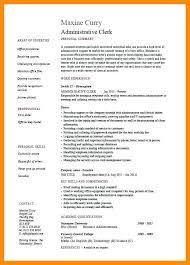 Billing Clerk Resume New Resume Examples For Clerical Administration