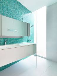 Blue Tiled Bathrooms 13 Inspirational Examples Of Blue And White Bathrooms Contemporist