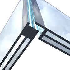 Verglasung über Eck Ohne Rahmen Innovative Rahmenlose Scheibe