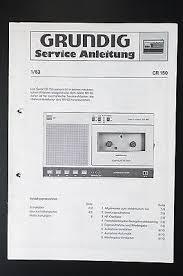 grundig cr 150 original service manual service manual wiring grundig cr 150 original service manual service manual wiring diagram o31